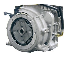 Integrated flywheel generator
